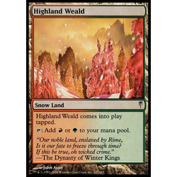 Magic löskort: Coldsnap: Highland Weald