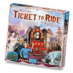 Ticket to Ride Map Collection 1 - Asia