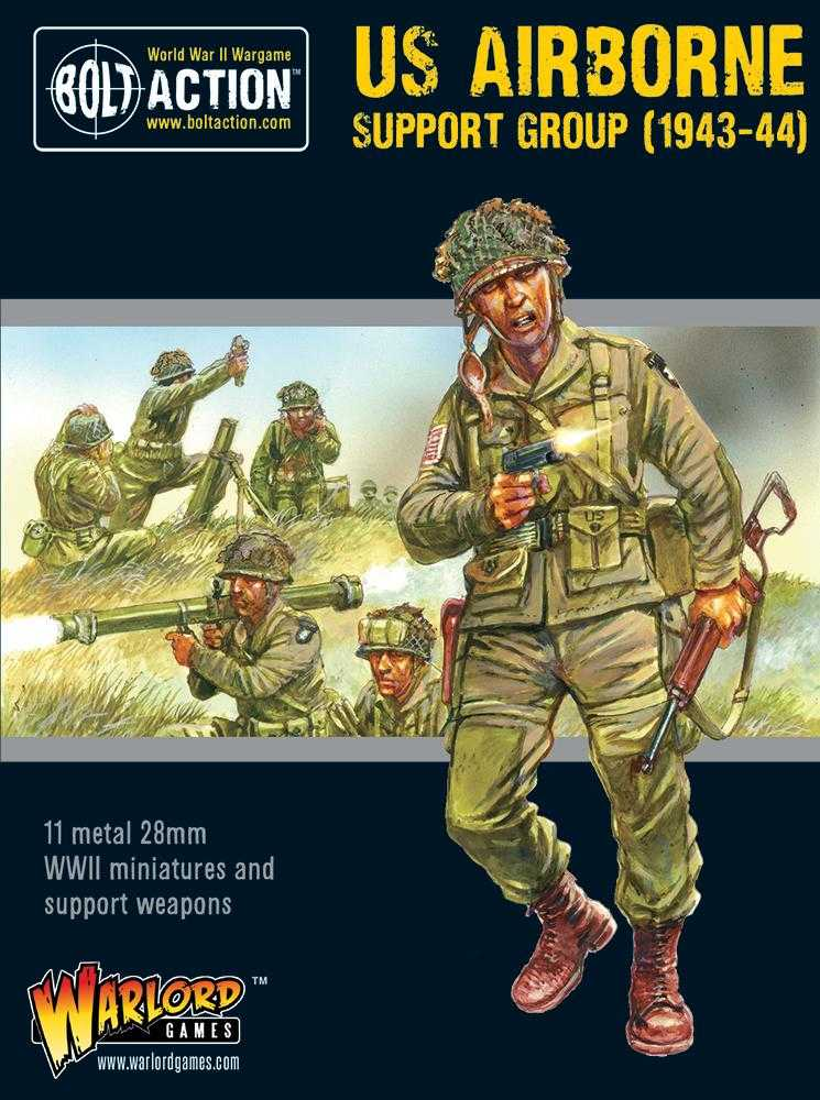 Warlord Games British Army Support Group Bolt Action