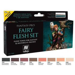 Vallejo Paint Set Fairy Flesh