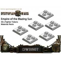 Empire of the Blazing Sun Fighter Tokens (30)