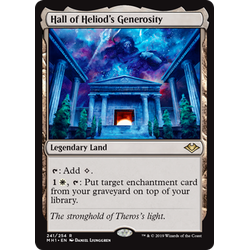 Magic löskort: Modern Horizons: Hall of Heliods Generosity
