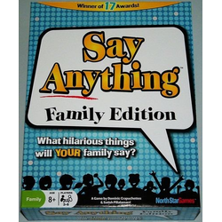 Say Anything Family (eng. regler)