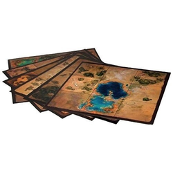 Golem Arcana: Map Tiles Set 3 - The Marshes of Kesh