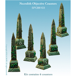 Necrolith Objective Counters
