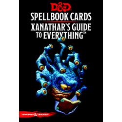 D&D 5.0: Spellbook Cards - Xanathar's Guide to Everything (2018 Ed.)