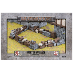 Battlefield in a Box: Wartorn Village - Barricades