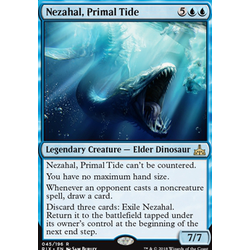 Magic löskort: Rivals of Ixalan: Nezahal, Primal Tide