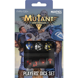 Mutant Chronicles Player's Dice Set