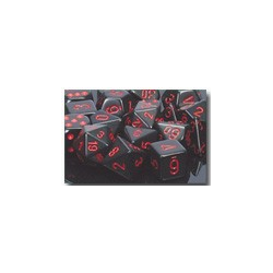 Black/red (7-Die set)