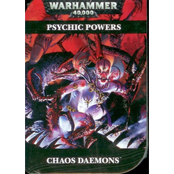 Warhammer 40K Psychic Cards: Chaos Daemons