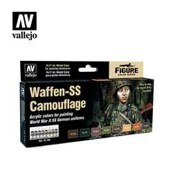 Vallejo Paint Set Waffen-SS Camouflage