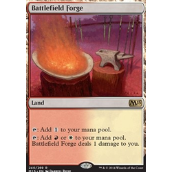 Magic löskort: M15: Battlefield Forge