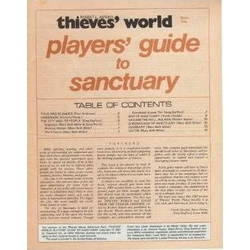 Thieves World: Players Guide for Sanctuary (Begagnad)