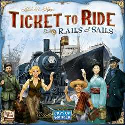 Ticket to Ride Rails & Sails (sv. regler)