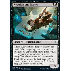 Magic löskort: Zendikar Rising: Acquisitions Expert