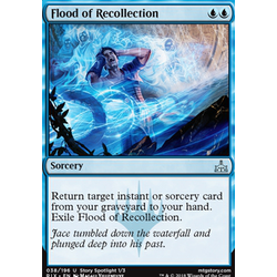 Magic löskort: Rivals of Ixalan: Flood of Recollection
