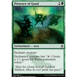 Magic löskort: Masters 25: Presence of Gond