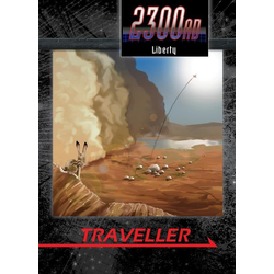 Traveller 2300AD: Liberty: Fighting Crime in America's Off-World State