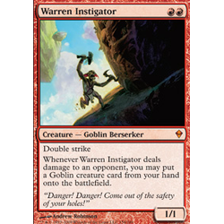 Magic löskort: Zendikar: Warren Instigator