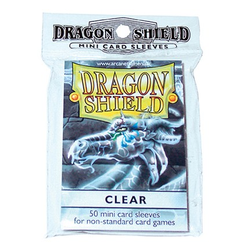 Dragon Shield Sleeves - Mini Clear (50 ct. in bag)