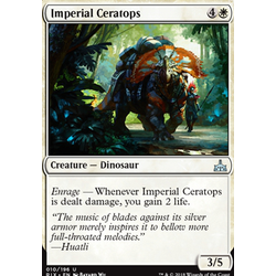 Magic löskort: Rivals of Ixalan: Imperial Ceratops
