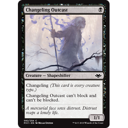 Magic löskort: Modern Horizons: Changeling Outcast