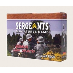 Sergeants Miniature Game: German Light Infantry MG42 Team