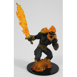 D&D Miniatures Game: Fire Titan