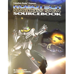 Robotech RPG: The Macross Saga Sourcebook