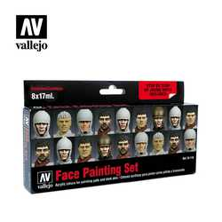 Vallejo Paint Set Face Painting Set