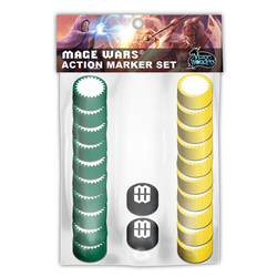 Mage Wars: Action Marker Set 1