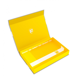 Feldherr Magnetic Lock Box half-size 40mm yellow empty