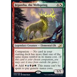 Magic löskort: Ikoria: Lair of Behemoths: Jegantha, the Wellspring