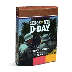 Sergeants D-Day: German Light Infantry MG42 Team
