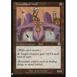 Magic löskort: Mystery Booster: Crenellated Wall