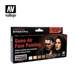 Vallejo Paint Set Game Air Face Painting