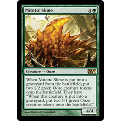 Magic löskort: Core Set 2011: Mitotic Slime (foil)