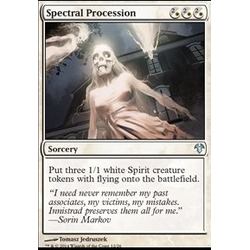 Magic löskort: Modern Event Deck: Spectral Procession