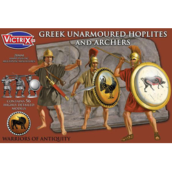 Victrix 28mm Greek Unarmoured Hoplites and Archers