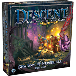 Descent: Journeys in the Dark 2nd Ed: Shadow of Nerekhall