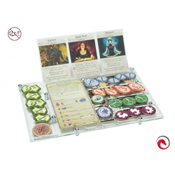 e-Raptor Organizer compatible with Arkham Horror 3d Edition
