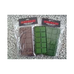 Renedra 25mm Square Plastic Bases
