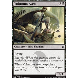 Magic löskort: Dragons of Tarkir: Vulturous Aven (foil)
