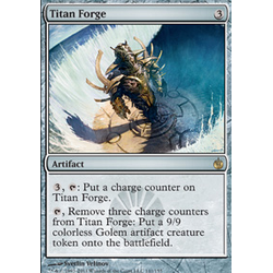 Magic löskort: Mirrodin Besieged: Titan Forge