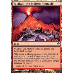 Magic löskort: Zendikar: Valakut, the Molten Pinnacle