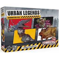 Zombicide: Urban Legends Abominations