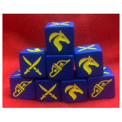 Saga Eastern Faction Dice (8)