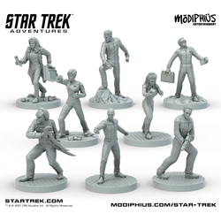 Star Trek Adventures: The Next Generation Bridge Crew