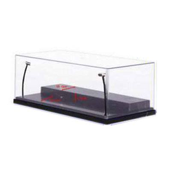 Display Case with Lightning for Models